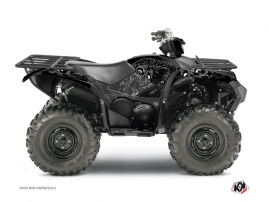 Kit Déco Quad ZOMBIES DARK Yamaha 700-708 Grizzly Noir