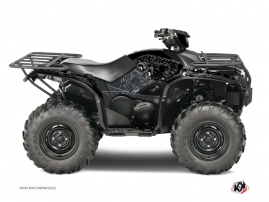 Yamaha 700-708 Kodiak ATV Zombies Dark Graphic Kit Black