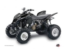 Honda 700 TRX ATV Zombies Dark Graphic Kit Black