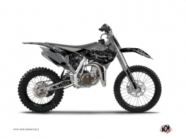 Kit Déco Moto Cross Zombies Dark Husqvarna TC 85 Noir