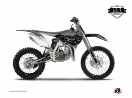 Kit Déco Moto Cross ZOMBIES DARK Husqvarna TC 85 Noir LIGHT