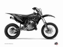 Kit Déco Moto Cross Zombies Dark Kawasaki 85 KX Noir