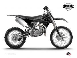 Kit Déco Moto Cross Zombies Dark KTM 85 SX Noir LIGHT