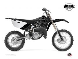 Kit Déco Moto Cross Zombies Dark Yamaha 85 YZ Noir LIGHT