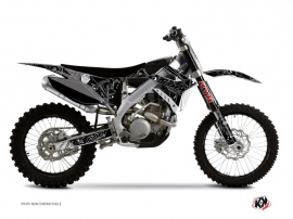 Kit Déco Moto Cross Zombies Dark TM EN 125 Noir