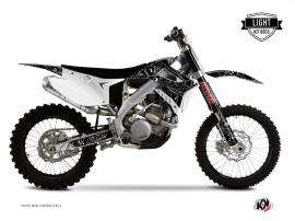 Kit Déco Moto Cross Zombies Dark TM MX 125 Noir LIGHT