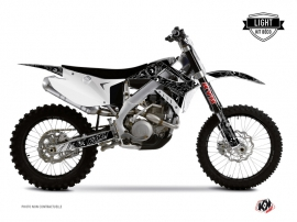 TM MX 250 Dirt Bike Zombies Dark Graphic Kit Black LIGHT