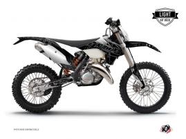 KTM EXC-EXCF Dirt Bike ZOMBIES DARK Graphic kit Black LIGHT