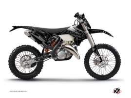 Kit Déco Moto Cross Zombies Dark KTM EXC-EXCF Noir