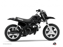 Kit Déco Moto Cross Zombies Dark Yamaha PW 80 Noir