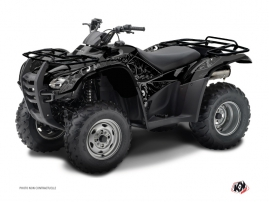 Honda Rancher 420 ATV Zombies Dark Graphic Kit Black