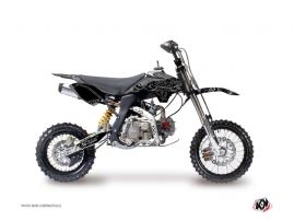 Kit Déco Moto Cross Zombies Dark YCF SP Noir