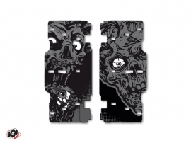 Graphic Kit Radiator guards Zombies Dark KTM SX-SXF 2015 Black